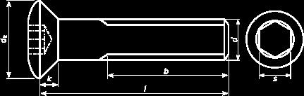 LinsenSenkkopf Schraube